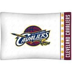 Cleveland Cavaliers NBA Microfiber Pillow Case - for Mateo's bedroom