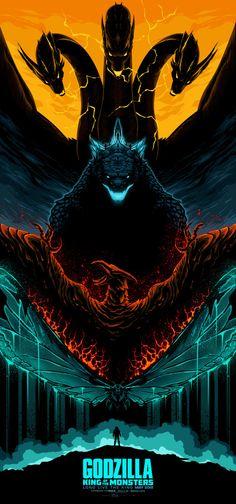 Talenthouse Artwork by Albert Lola Greek Monsters, All Godzilla Monsters, Godzilla Comics, Marshmello Wallpapers, Naruto Painting, King Kong Vs Godzilla, Rukia Bleach, Godzilla Wallpaper, Mickey Mouse Art