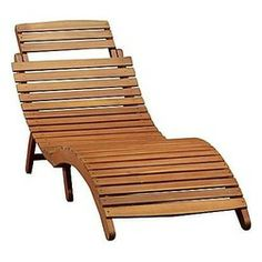 Modern and elegant chaise lounge.  Lahaina Outdoor Chaise Lounge @jcpenney #jcpAmbassador, #sponsor, #BH