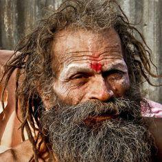 Sadhu. Holy man. India