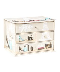 Loving this Parisian Four-Drawer Jewelry Box on #zulily! #zulilyfinds