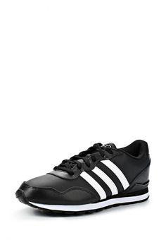 Кроссовки adidas Neo мужские. Цвет: черный. Материал: искусственная кожа, натуральная кожа. Сезон: Осень-зима 2014/2015. С бесплатной доставкой и примеркой на Lamoda. http://j.mp/1lHx1sZ