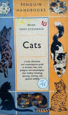 Cats vintage penguin paperback book