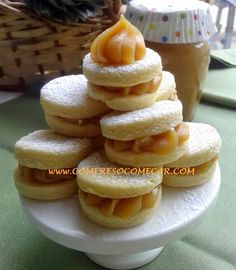 Receitas Culinárias: CASADINHOS DE DOCE DE LEITE