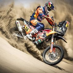 Strong start for KTM on stage 1 of the Dakar Rally with and well inside the Source IG: ktmfactoryracing Moto Enduro, Enduro Motocross, Motorcycle Dirt Bike, Motorcycle Racers, Dirt Bike Girl, Triumph Motorcycles, Motorcycle Quotes, Custom Motorcycles, Cars Motorcycles