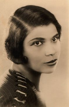 The beautiful uoung opera singer Marian Anderson.