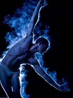 BodyVox steamy Eric Skinner photographed by the brilliant Michael Shay of Polara Studios.  Beautiful man & dancer!