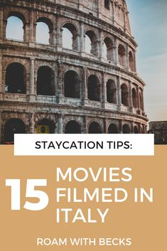 Here are some suggestions for movies set in Italy. All of these movies take place in Italy, so you can get inspired for your next visit to Italy. These movies will inspire your wanderlust and give you inspiration. Put them on your watchlist today! Italian aesthetics for your every day travel bug! Movies Set In Italy, Places In Italy, Travel Bugs, Staycation, Film Movie, All Over The World, My Dream, Beautiful Places, Wanderlust
