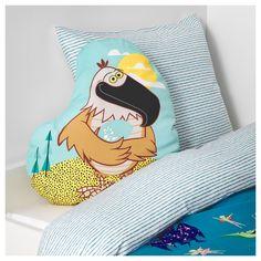 IKEA - LATTJO Cushion eagle, multicolor