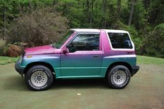 I love the color. #iridescent #geotracker #4x4