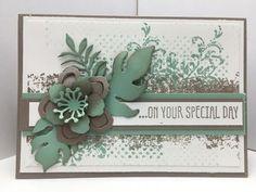 Ophelia Crafts Timeless Textures Week Wedding Card