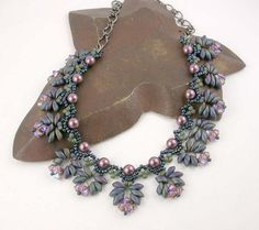Magical Magatama Necklace Class Sample by Simply_Adorning, via Flickr