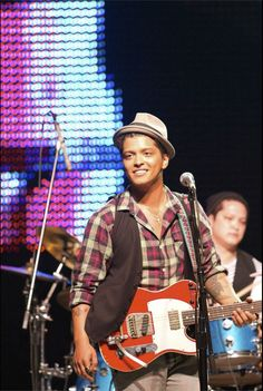 Bruno Mars at Project Ethos LAFW 3.19.10