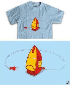 Ironman T-shirt Funny Design - We share ideas-ideaswu