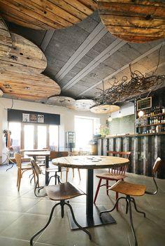 Kontakt Bar, Slovakia designed by Oliver Kleinert