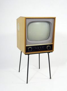 CS17 television, designed by Robin Day and manufactured by Pye Ltd, 1957