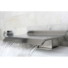 Roman Tub Waterfall Spout/ Deck Mount | Overstock.com Shopping - Great Deals on Bathroom Faucets