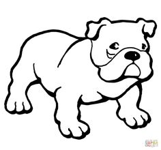 ausmalbild hund in 2020   ausmalbilder hunde, hunde, husky hund
