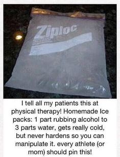 Medical Life Hack ~ How to make an ice pack. (Now with more savings and more rhyming!) 9 Easy Health Life Hacks to create Your Body FEEL JUST LIKE New! hacks 1 diy hacks hacks of life hacks Simple Life Hacks, Useful Life Hacks, Things To Know, Good Things, Tips & Tricks, Health Remedies, Arthritis Remedies, Arthritis Hands, Herbal Remedies