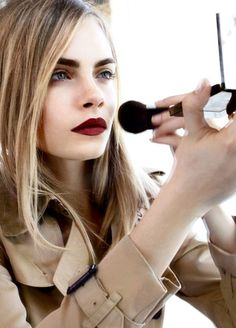 Cara Delevingne for Burberry cosmetics