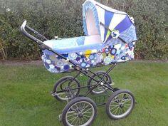Hæklet/strikket barnevogn