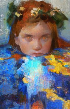 Kai Fine Art is an art website, shows painting and illustration works all over the world. Pretty Art, Cute Art, Art Inspo, Painting Inspiration, Portrait Art, Figurative Art, Art Studios, Oeuvre D'art, Painting & Drawing