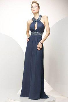 Amazing Jewel A-line Sleeveless Chiffon Floor-length Wedding Party Dresses - Wedding Party Dresses - Wedding Dresses