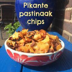 Chips gemaakt van pastinaak? Dat kan! - PeachyPaleo