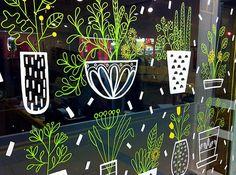 MoonKo | Window drawing, Sheffield | sarah abbott | Flickr