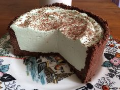 Torta Grasshopper ricetta su Pandispagna