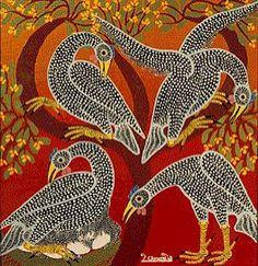 Z. Chimwani Jr. (Contemporary, Tingatinga Style): Unknown Title. Painting.