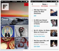 Flipboard speeds up iOS app, freshens up the interface for iOS 7 Ios 7, Mobile Design, New Technology, Mobile App, Ecommerce, Ipad, Ui Design, Brain, Success