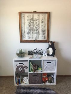 I love this quote for the nursery! Woodland Room, Woodland Nursery Decor, Rustic Nursery, Nursery Neutral, Baby Boy Rooms, Baby Boy Nurseries, Baby Room, Kids Interior, Baby Time