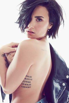 Demi Lovato for Cosmopolitan 2015 Cabelo Demi Lovato, Demi Lovato Short Hair, Demi Lovato Body, Demi Lovato Haircut, Demi Lovato Tattoo, Demi Lovato Hairstyles, Demi Lovato Style, Short Hair Cuts, New Hair