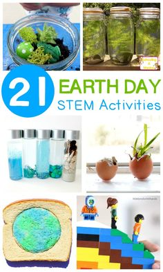 Learn how you can make a difference in the planet with science, technology, engineering, and math activities with these STEM activities for Earth Day! Earth Day Activities for Kids Earth Day Projects, Earth Day Crafts, Stem Projects, Projects For Kids, Science Projects, Earth Craft, Earth Day Activities, Spring Activities, Stem Activities