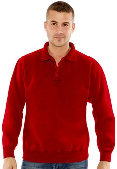 7c00ad705ae 3 Button Polo Ruby Red 100% Cotton 3 Button Placket Flat knit collar  Flatlock stitching detail