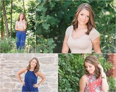 A gorgeous, natural senior session with lots of variety, photographed in a natural as well as downtown setting. Photographed by Cumberland Valley HS photographer Tina Jay Photography.