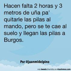 Llegan las pilas a Burgos. #humor #risa #graciosas #chistosas #divertidas
