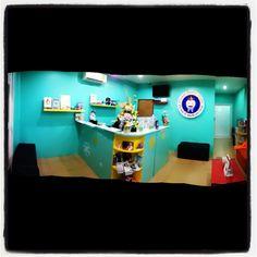 Reception desk at Phuket dental studio www.phuketdentalstudio.com