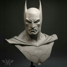 After the Joker it's only fair we post this 1:1 scale original Batman bust again sculpted by the masterful Andy Bergholtz (@monsterpappa) for Sideshow Collectibles. --- #batman #batmanvsuperman #suicidesquad #darkknight #dccomics #justiceleague #statue #sculpt #spfx #benaffleck #sculpture #arkhamknight #sideshowcollectibles