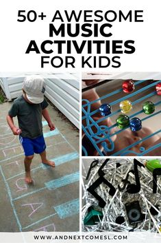 50+ Incredibly Creative Music Activities for Kids
