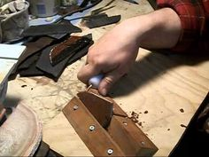 Stone Culture Knapping Jig for the Disabled Knapper.