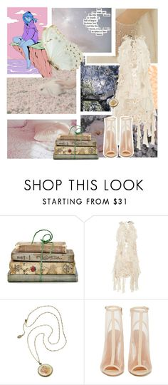 """""""Fairies"""" by janalunamarie23 ❤ liked on Polyvore featuring Shabby Chic, Lana Mueller, Shoe Cult and Love Quotes Scarves"""