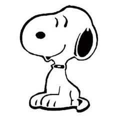 snoopy my favorite Peanuts Character.