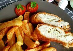 Rántott csirkemell tekercs, sütőben sütve | Timcsi receptje - Cookpad receptek