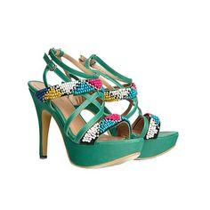 Malika Strappy High Heel, featured on Fab.