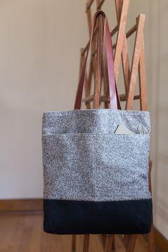Making: Wool + Wax Tote - Noodlehead