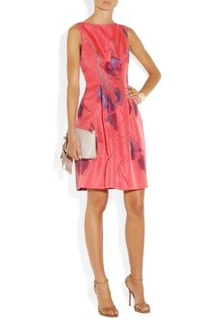 Lela Rose | Floral jacquard dress | NET-A-PORTER.COM