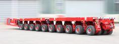 Self-Propelled Modular Transporters (SPMT) F: SCHEUERLE - leading manufacturer of heavy load transporters