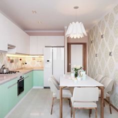Your kitchen isn't only essentially the most important parts of your home, but also can determinethe actual resale worth your room. Hacienda Kitchen, Farmhouse Style Kitchen, Modern Farmhouse Kitchens, Kitchen Dining, Kitchen Decor, First Apartment Decorating, Cute Kitchen, Minimalist Home Decor, White Rooms